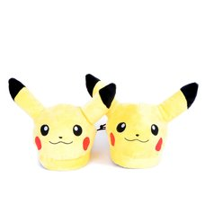Pokémon Pikachu Unisex 3D Plush Slippers