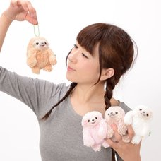 Namakemono no Mikke & Friends Sloth Plush Collection (Ball Chain)