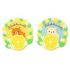 A Basketful of Lemons Rilakkuma Coasters