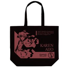 Revue Starlight Karen Aijo Large Black Tote Bag