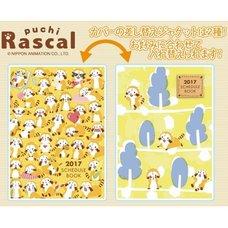 Puchi Rascal 2017 Character Schedule Book