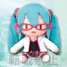 Mega Jumbo Lying Down Plush Hatsune Miku: Project DIVA Arcade Future Tone Hatsune Miku: Natural Ver.
