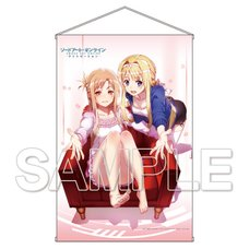 Sword Art Online: Alicization Asuna & Alice HD Tapestry