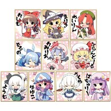 Touhou Project Mini Shikishi Board Collection Vol. 2 Box Set