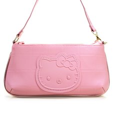 Hello Kitty Smoky Pinkish Wristlet Pouch