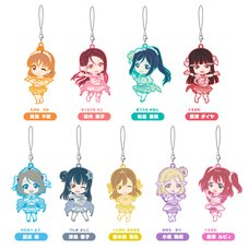 Nendoroid Plus: Love Live! Sunshine!! Koi ni Naritai Aquarium Ver. Trading Rubber Straps Box Set