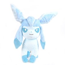 """Pokemon 10"""" Glaceon Plushie"""
