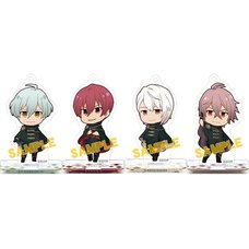 IDOLiSH 7 Acrylic Keychain & Stand Collection Box Set C