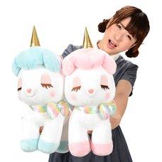 Unicorn no Cony Yume-Kawa Ribbon Plush Collection (Big)