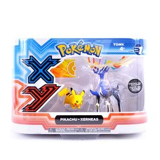 "Pokémon Action Figure 2-Pack: Legendary Xerneas & 2"" Pikachu"
