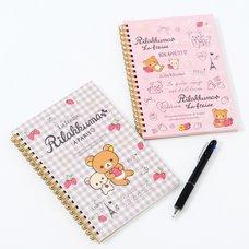 La Fraise a Paris Rilakkuma Spiral-Bound Notebooks