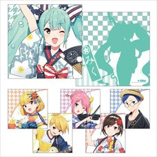 Hatsune Miku Summer Festival Cushion Collection