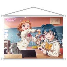 Love Live! Sunshine!! Aqours Chika & Yoshiko B2-Size Tapestry