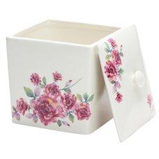 Rose Bread Container