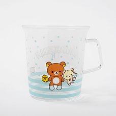 Rilakkuma Shima Shima Everyday Glass Mug