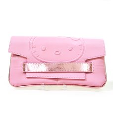 Hello Kitty Smoky Pinkish Long Wallet