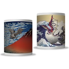 Monster Hunter Ukiyo-e Mug Collection