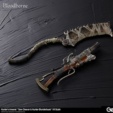 Bloodborne Hunter's Arsenal Saw Cleaver & Hunter Blunderbuss 1/6 Scale Weapon Set