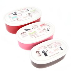 Kiki's Delivery Service Stylish Kiki's Town 3-Piece Plastic Container Set