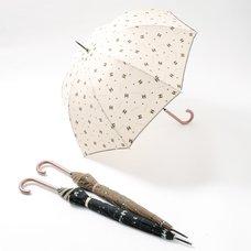 FLAPPER Buburin Paw Print Umbrella