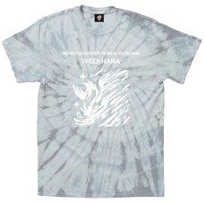 Monster Hunter World: Iceborne Ivelkhana Tie-Dye T-Shirt