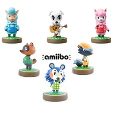 Animal Crossing amiibo 3-Pack w/ 3 Free Animal Crossing amiibo (Option B)