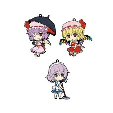 Nendoroid Plus Rubber Straps Touhou Project  Ver. 2
