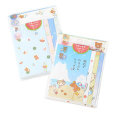 Rilakkuma's Summer Vacation Letter Set