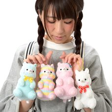 Alpacasso Sitting Plush Collection (Ball Chain)