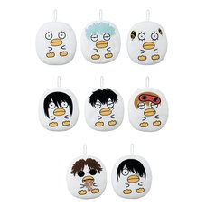 Gintama  Elizabeth Flat Ball Chain Plush Collection