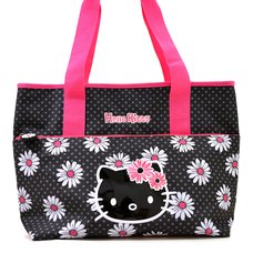 Hello Kitty Daisy Shoulder Tote Bag