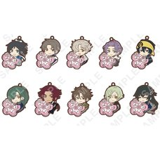 Pita-Colle Zoku Touken Ranbu -Hanamaru- Rubber Straps Vol. 2 Box Set