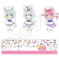 Uma Musume Pretty Derby Acrylic Keychain Set w/ Display Stand