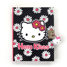 Hello Kitty Daisy Locking Diary