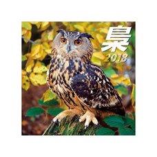 Owl 2018 Calendar