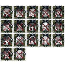 Danganronpa Portrait Acrylic Badge Collection Vol. 1