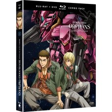 Mobile Suit Gundam: Iron-Blooded Orphans Season 2 Part 2 Blu-ray/DVD Combo Pack