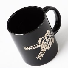 EVA STORE Original 20th Evangelion 20th Anniversary Commemorative Logo Mug