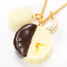 Q-pot. Parlor Banana Choco Necklace