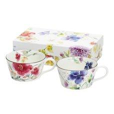 Hana Suisai Mino Ware Soup Cup Set
