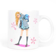 Your Lie In April Kaori Miyazono Mug