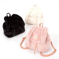 FLAPPER Rabbit-Eared Furry Backpack