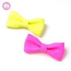 6%DOKIDOKI Mini Ribbon Clip & Brooch (Sugar)