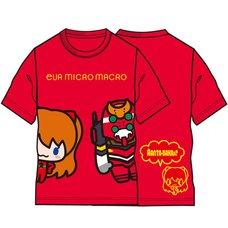 Eva Micro Macro Asuka & Unit-02 Red T-Shirt