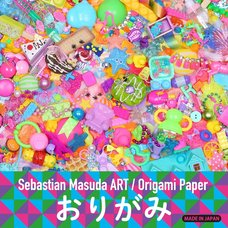 6%DOKIDOKI/Sebastian Masuda ART Colorful Rebellion Origami Paper