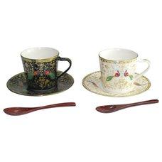 Asuka Mino Ware Coffee Cup Set