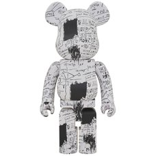 BE@RBRICK Jean-Michel Basquiat Vol. 3 1000%