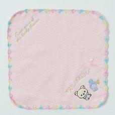 Rilakkuma Mini Towel (Korilakkuma - Pink)