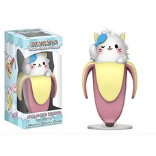 Bananya Vinyl Collectible: Long-Haired Bananya