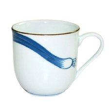 Japanese Leek Mino Ware Mug